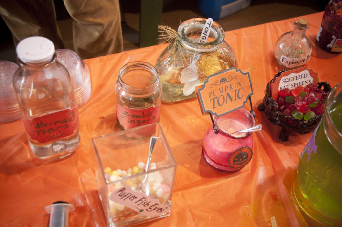 Oh, and don't forget about potions class. These potions are all edible...