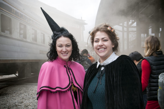 Baltimore's B&O Railroad Museum is hosting a Witches & Wizards Weekend, and you won't want to miss it.