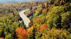 This Bird's Eye View Of New Hampshire's Fall Foliage Is Mesmerizing