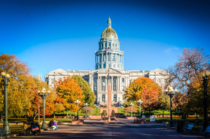 1. Colorado State Capitol & Civic Center Park