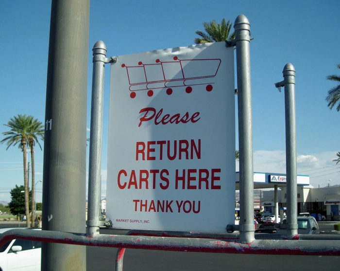5. Shopping Buggy/Carriage
