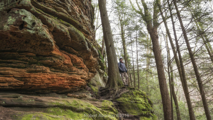 Located in the northern part of the Hocking Hills region, Cantwell Cliffs is a remote, yet breathtaking hiking destination.