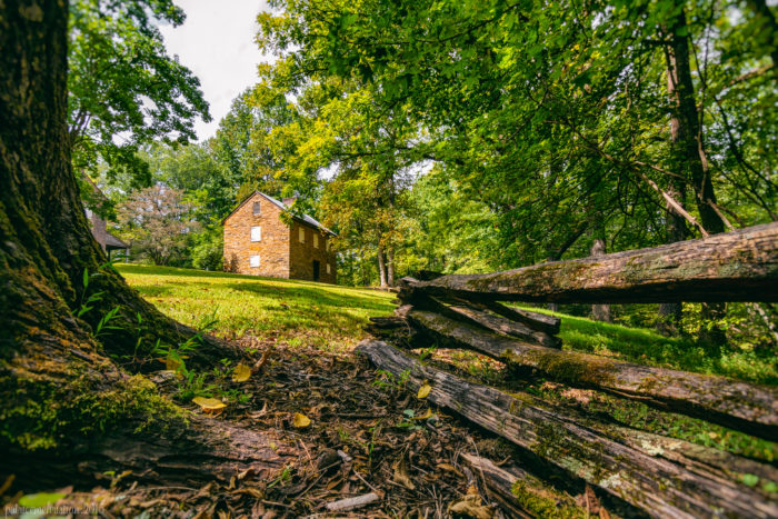 Part of the South Carolina Parks system, Oconee Station State Historic Site in Walhalla is stunning any time of year.  Visit in the fall and you'll be surrounded by amazing colors.
