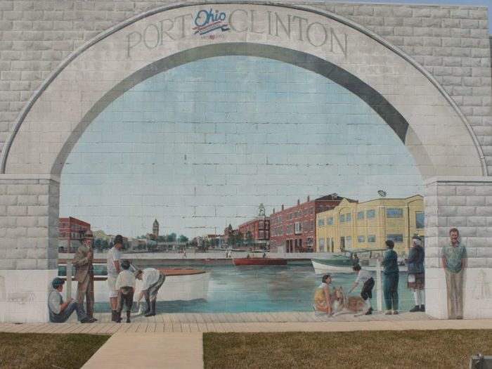 What is now the county seat of Ottawa County was first established as a town along the shores of Lake Erie in 1828.