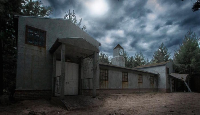 After the hayride, you're not quite done with your trek of horror. Next stop is the Sunnyvale Asylum.
