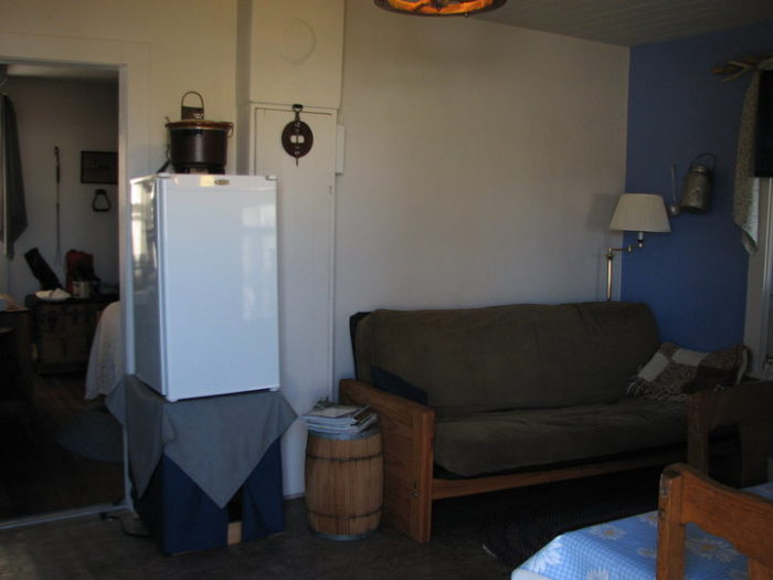 The cabins have varying numbers bedrooms, and each has its own distinct layout.