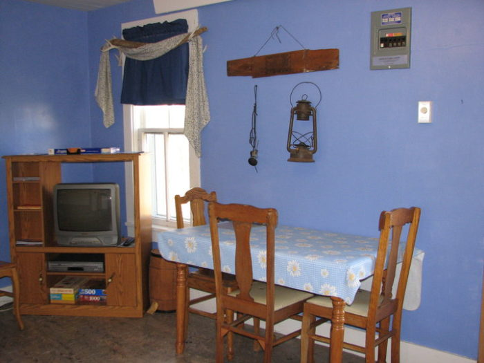 The cabins provide the perfect home base for whatever adventures you have while at the Double R.