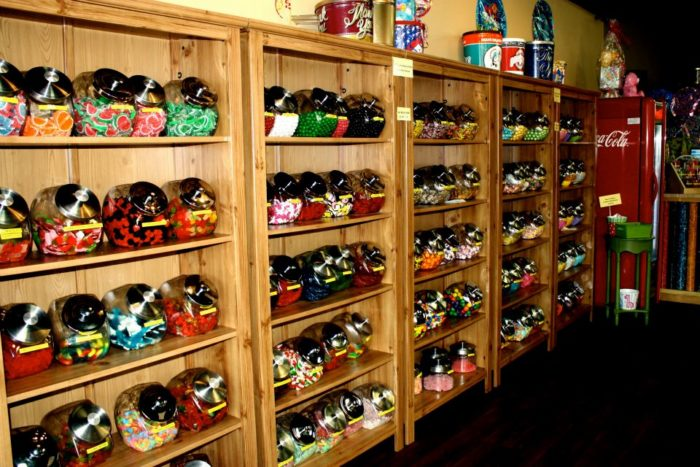 Ms. Bee's doesn't just stop at popcorn, though. Here you will find shelves full of candy, both today's favorites and many hard-to-find vintage candies from yesteryear.