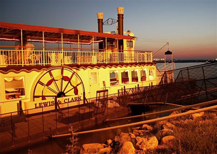 8. Lewis & Clark Riverboat