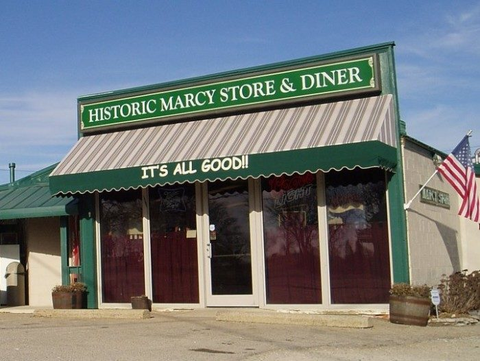 4. Historic Marcy Store and Diner (Canal Winchester)