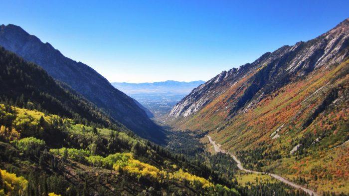 8. Top of Little Cottonwood Canyon