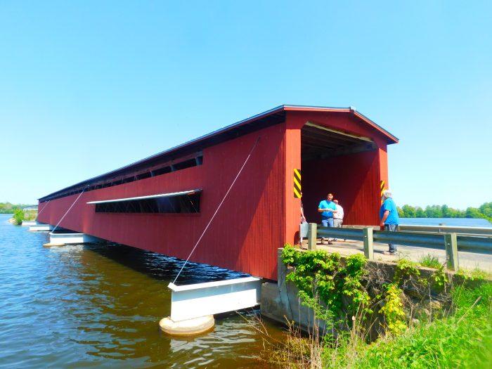 3. Langley Covered Bridge