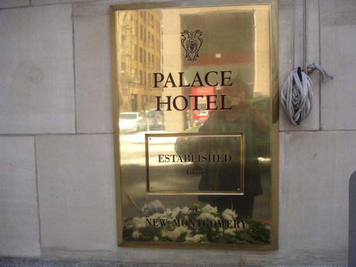 The Palace Hotel has been a central figure of San Francisco since 1875. It contains enough stories within its walls to fill a book.