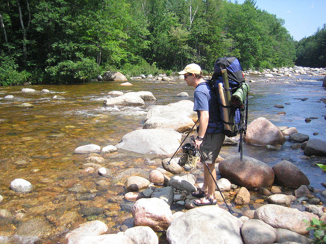One of the best spots to enjoy is the Pemigewasset River, from which the area gets its name.
