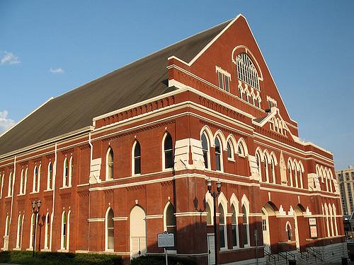 2. The Ryman Auditorium