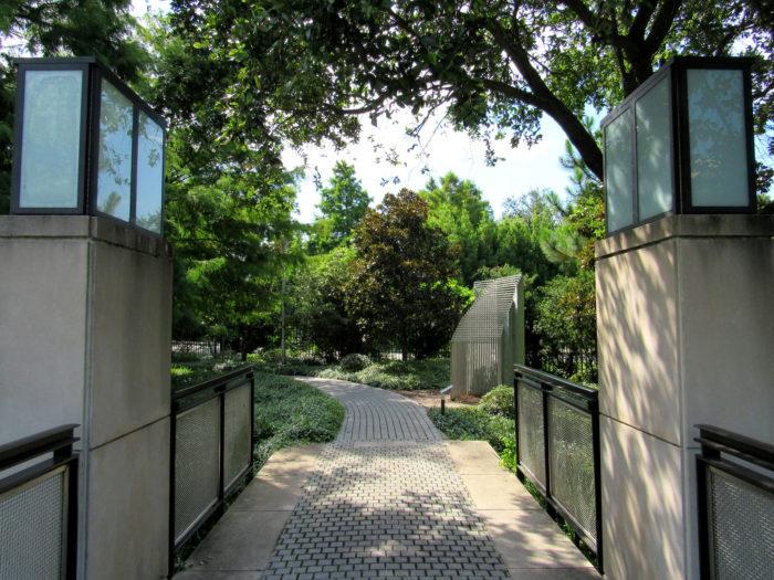 1. The Sydney and Walda Besthoff Sculpture Garden at NOMA