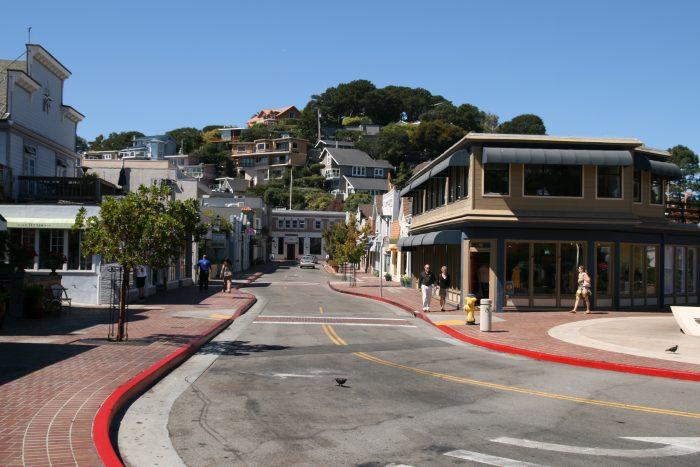Main Street of Tiburon