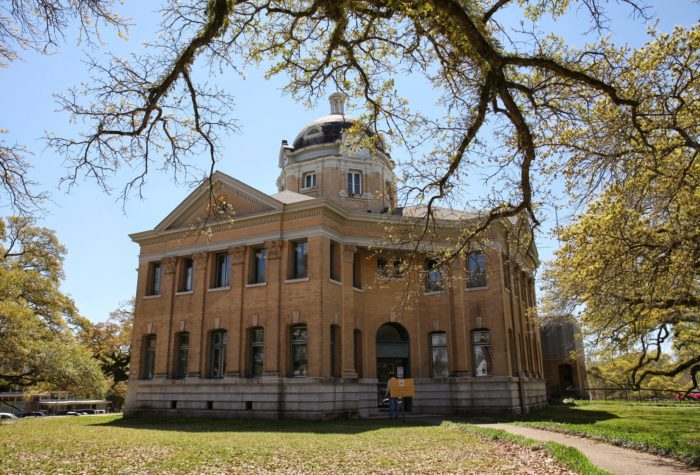 At the focal point of Woodville's downtown, you'll find the picturesque Wilkinson County Courthouse,. Built in 1903, it's actually the third to be constructed on the site.