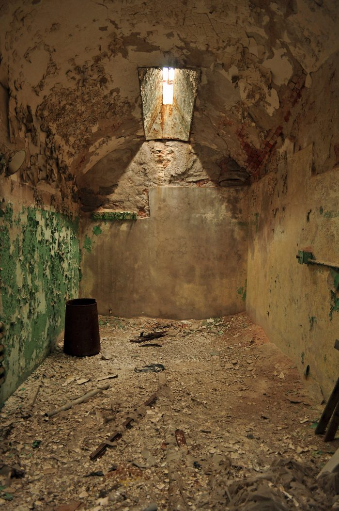 Instead, the lack of human contact drove many of the prisoners to insanity.
