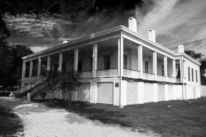 In 1941, the historic property was opened to the public for touring. Throughout the years, many visitors have found something unusual in the photos taken during their time at Beauvoir.