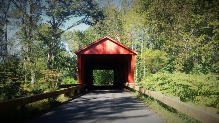 4. Jericho Covered Bridge, Kingsville