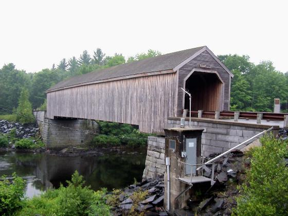 9. Make sure to visit Lowe's Covered Bridge, which was built in 1857.