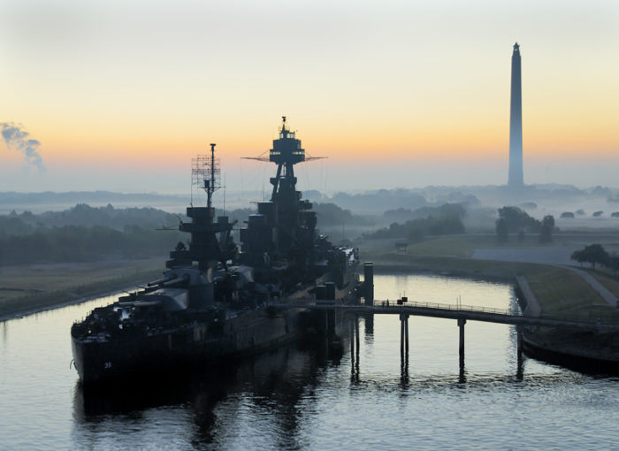 It became the first warship museum in the entire country in 1948 and was designated as the U.S. Navy's flagship on Texas Independence day of the same year.