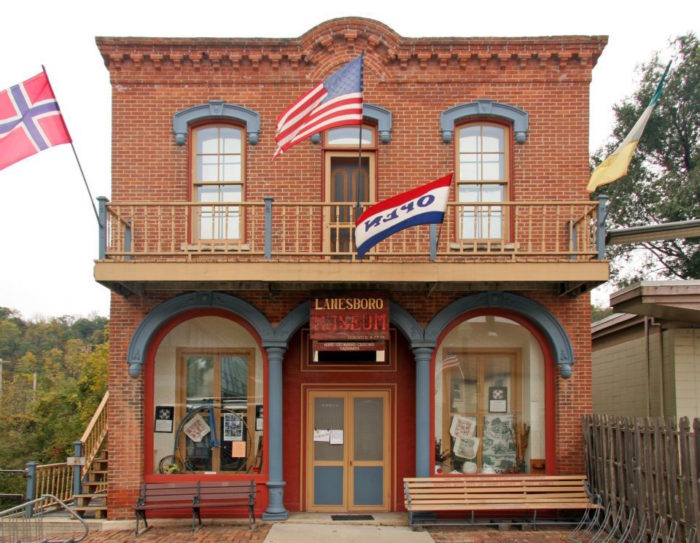 When you're done wandering the countryside, there are plenty of things to do in Lanesboro's cute downtown area. You can visit the Lanesboro Historical Museum to learn area history.