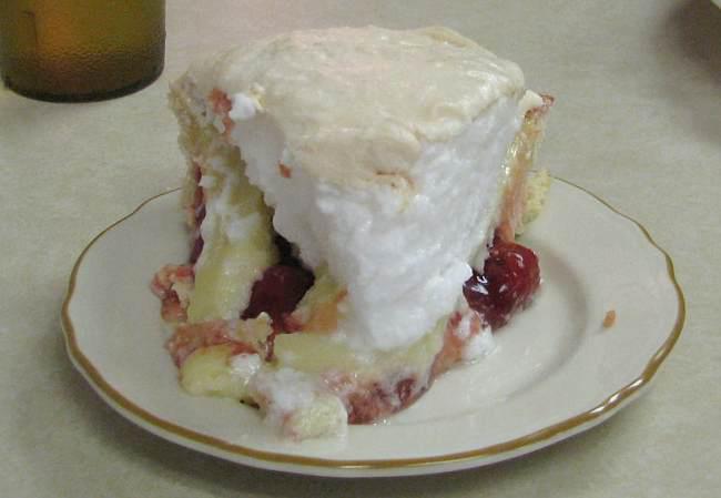 ...and decadent pie.