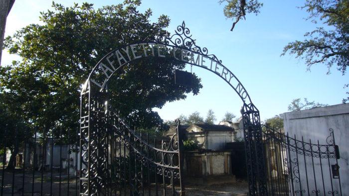 6. Lafayette Cemetery No. 1