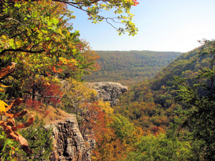 This beautiful spot is considered one of the most romantic places in Arkansas, and it has seen countless kisses shared, proposals made and knots tied on this ancient rock.