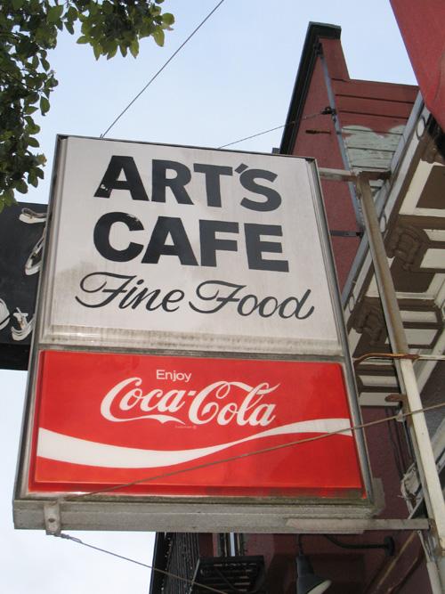 4. Art's Cafe: 747 Irving St