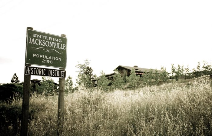 Jacksonville was founded way back in 1851, after gold was discovered in the area.  During its short-lived (but epic) gold mining boom, Jacksonville also became home to the first Chinatown in all of Oregon.