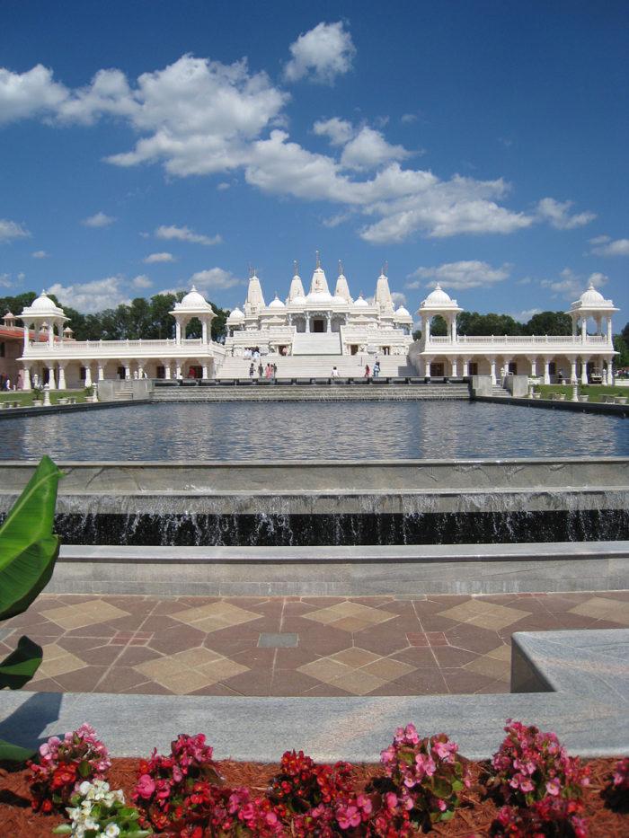 8. BAPS Shri Swaminarayan Mandir Atlanta