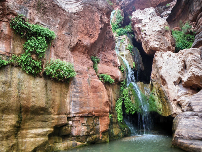 9. Take some time to relax after a grueling hike to Elves Chasm.