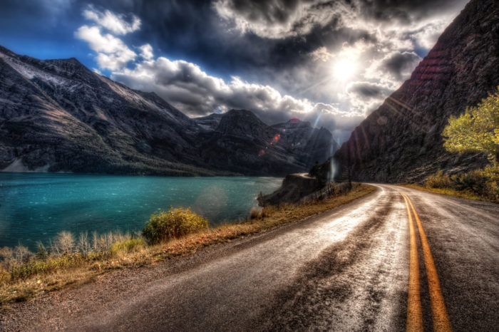 4. Go to Glacier National Park.