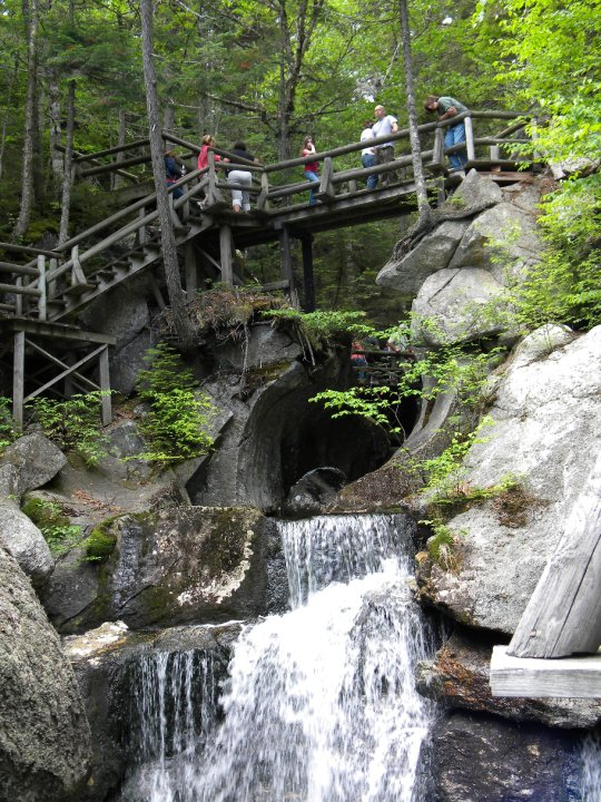 Lost River Gorge in North Woodstock is one of the most beloved tourist attractions in New Hampshire.