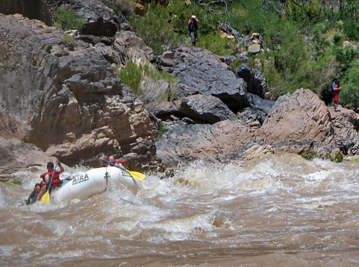 11. Another water activity includes rafting the Lava River Rapids, which is one hair raising experience!