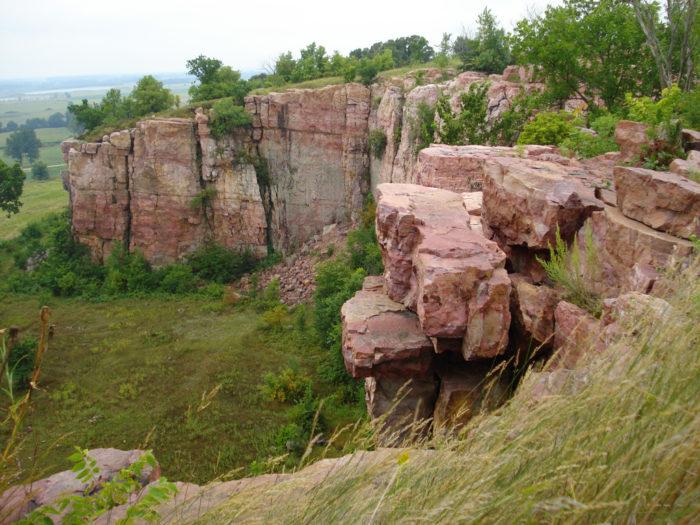 2. Upper Cliffline Trail at Blue Mounds State Park - 4 miles