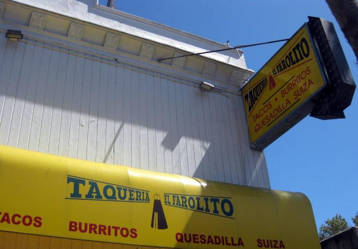7. El Farolito Taqueria: 2779 Mission Street
