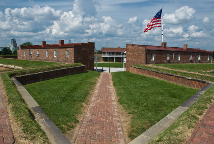 6. Fort McHenry, Baltimore