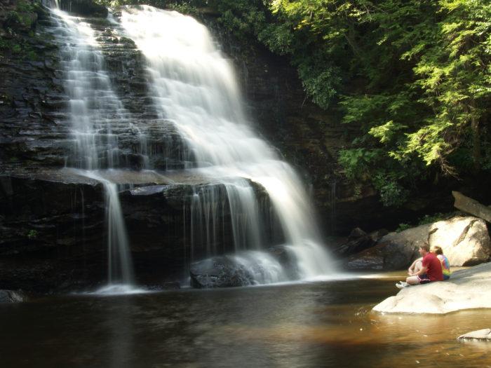 10. Muddy Creek Falls