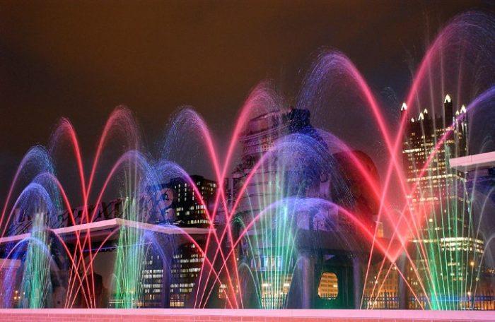 4. Bessemer Court Fountain Show