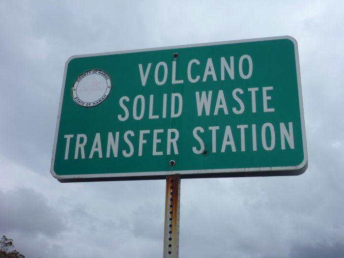 4. Volcanic waste is a big deal in Hawaii.