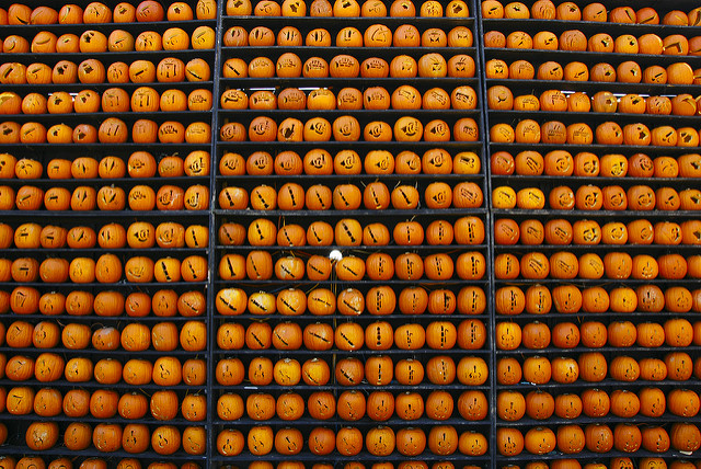 There's even a pumpkin orchestra.