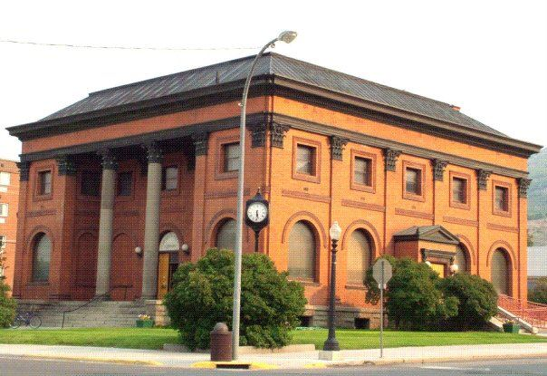 The Hearst Free Library on Main Street is a must-see if you're a reader.