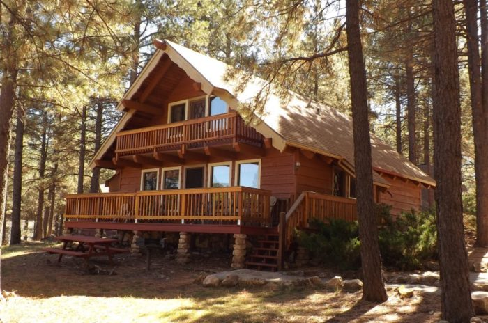 Stay in these 10 arizona cabins this fall for Cottages of camp creek