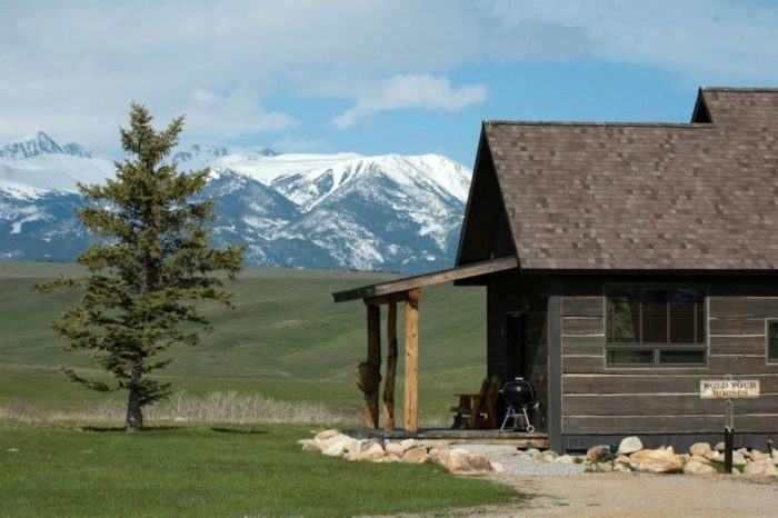 9. Spend a weekend at a cabin enjoying nature.