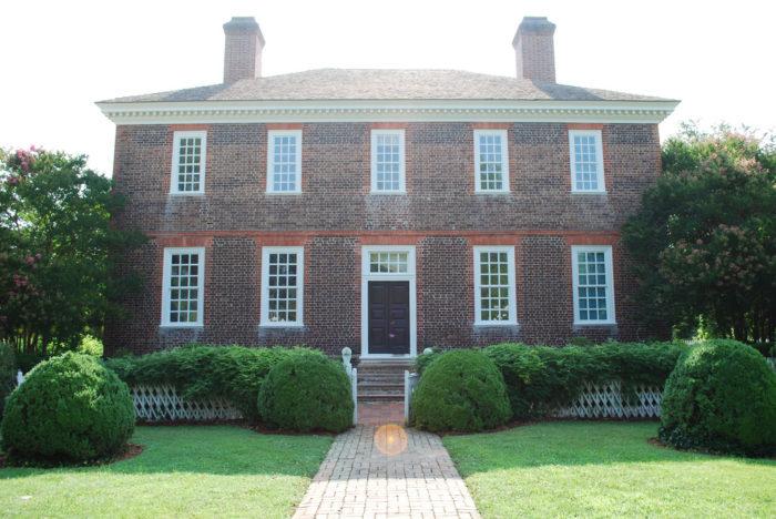 1. Wythe House (Williamsburg)