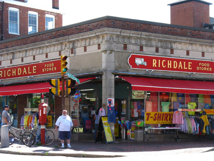 It might not look like much from the curb, but Richdale's is a Newburyport institution. Stop by for a bag of penny candy, an armful of odds and ends, or a 25-cent hot dog.